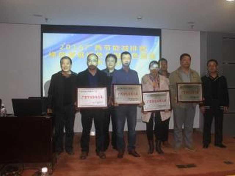 2016广西节能减排学术年会获奖会员单位名单公示